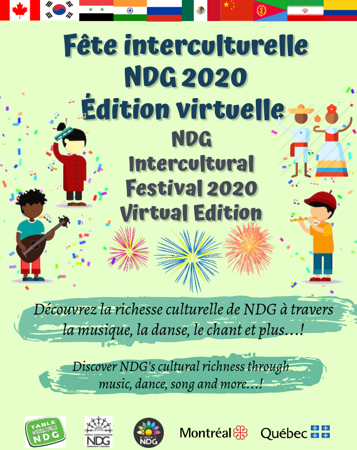 NDG Intercultural Festival 2020 – virtual edition