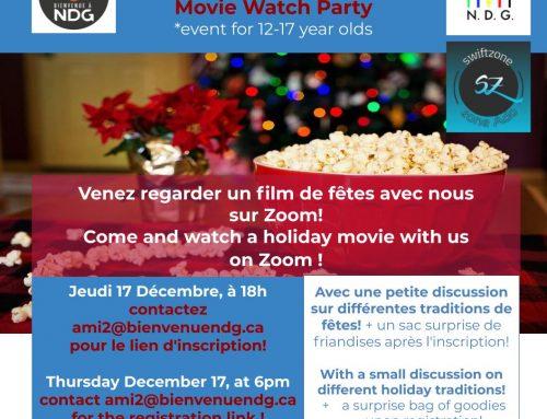 Une soirée cinéma pour ados