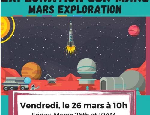 Mars exploration: online activity for kids