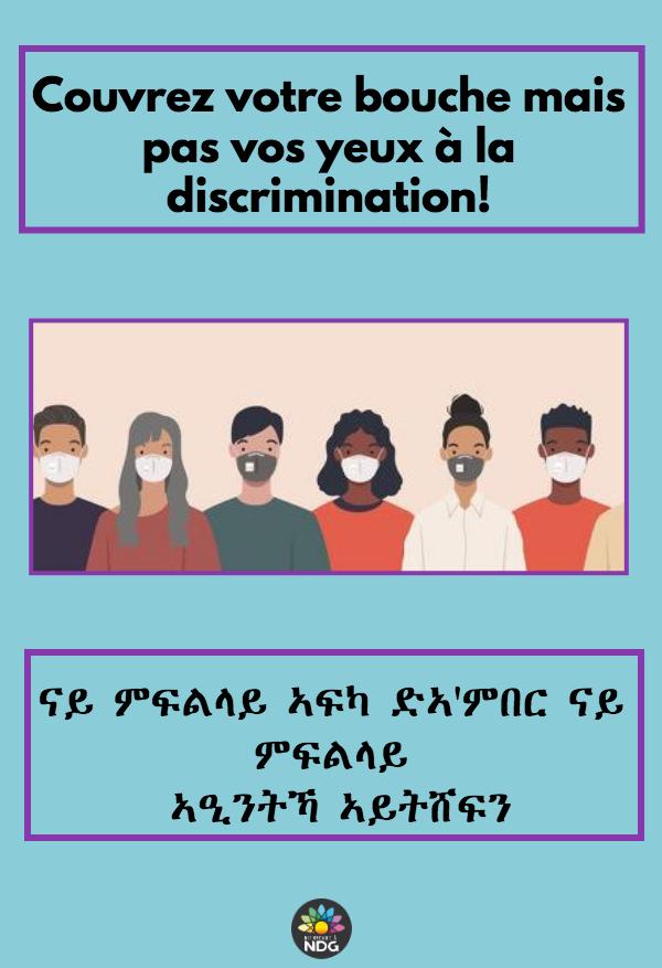 Social inclusion: multilingual awareness campaign