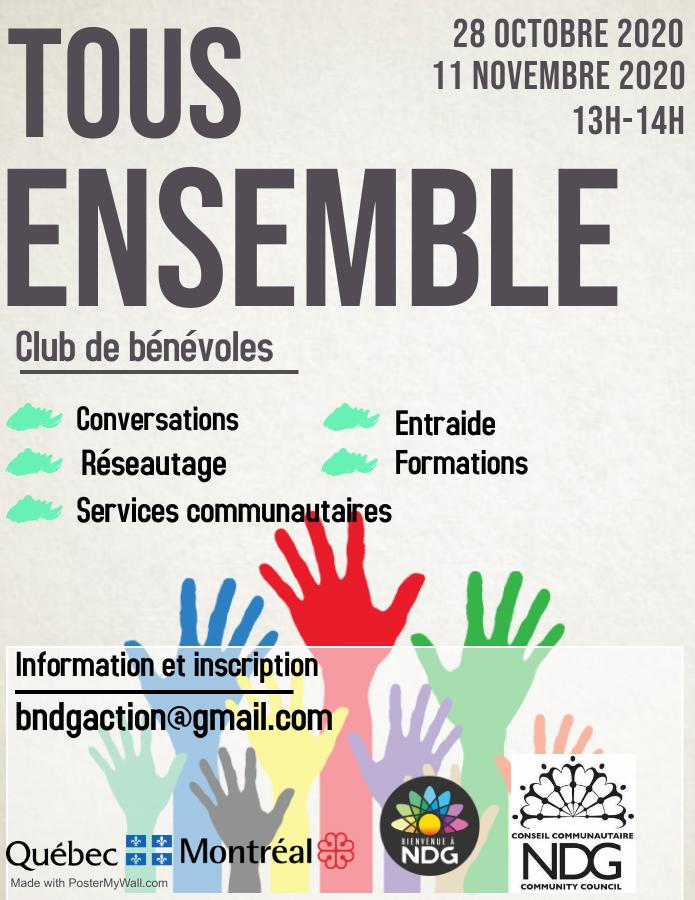 Club de bénévoles: Tous ensemble