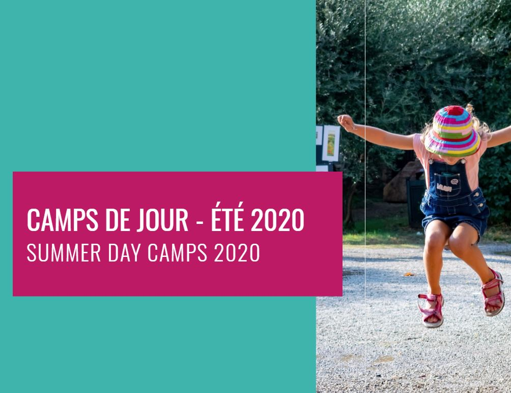 The list of information on summer camps in NDG