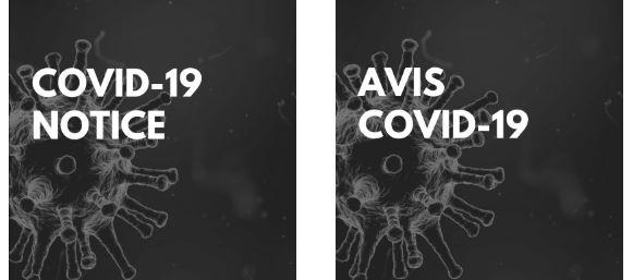 NOTICE COVID-19