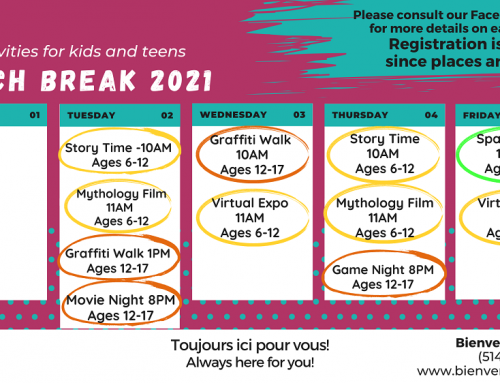 March Break 2021: Free activities for kids and teens