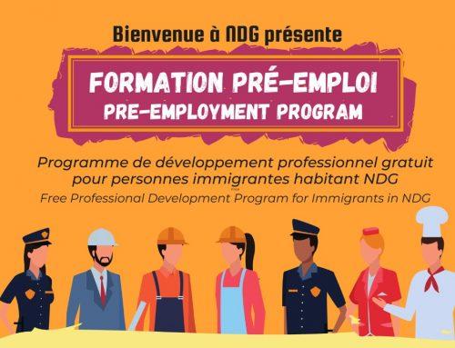 Pre-employment Program Spring 2021